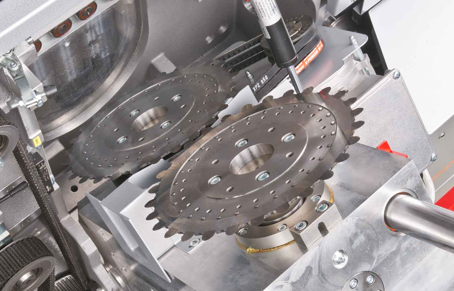 RS 164 Rotationsschneidemaschine Messerblock Gaemmerler