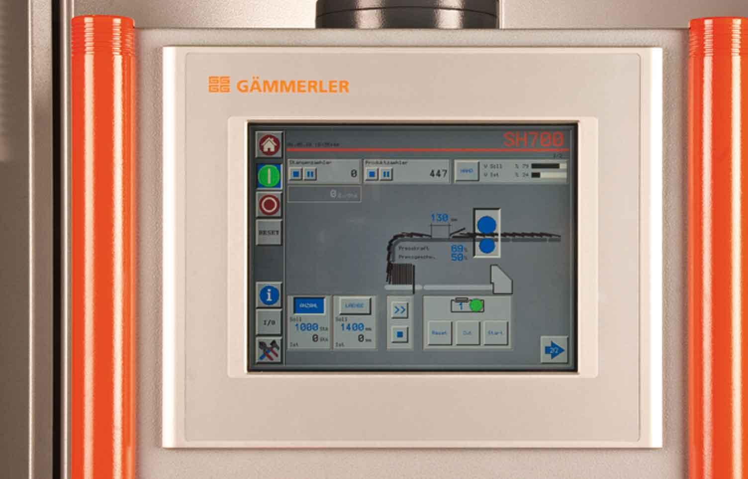 SH-700 horizontaler Stangenbilder Touchpanel Gaemmerler